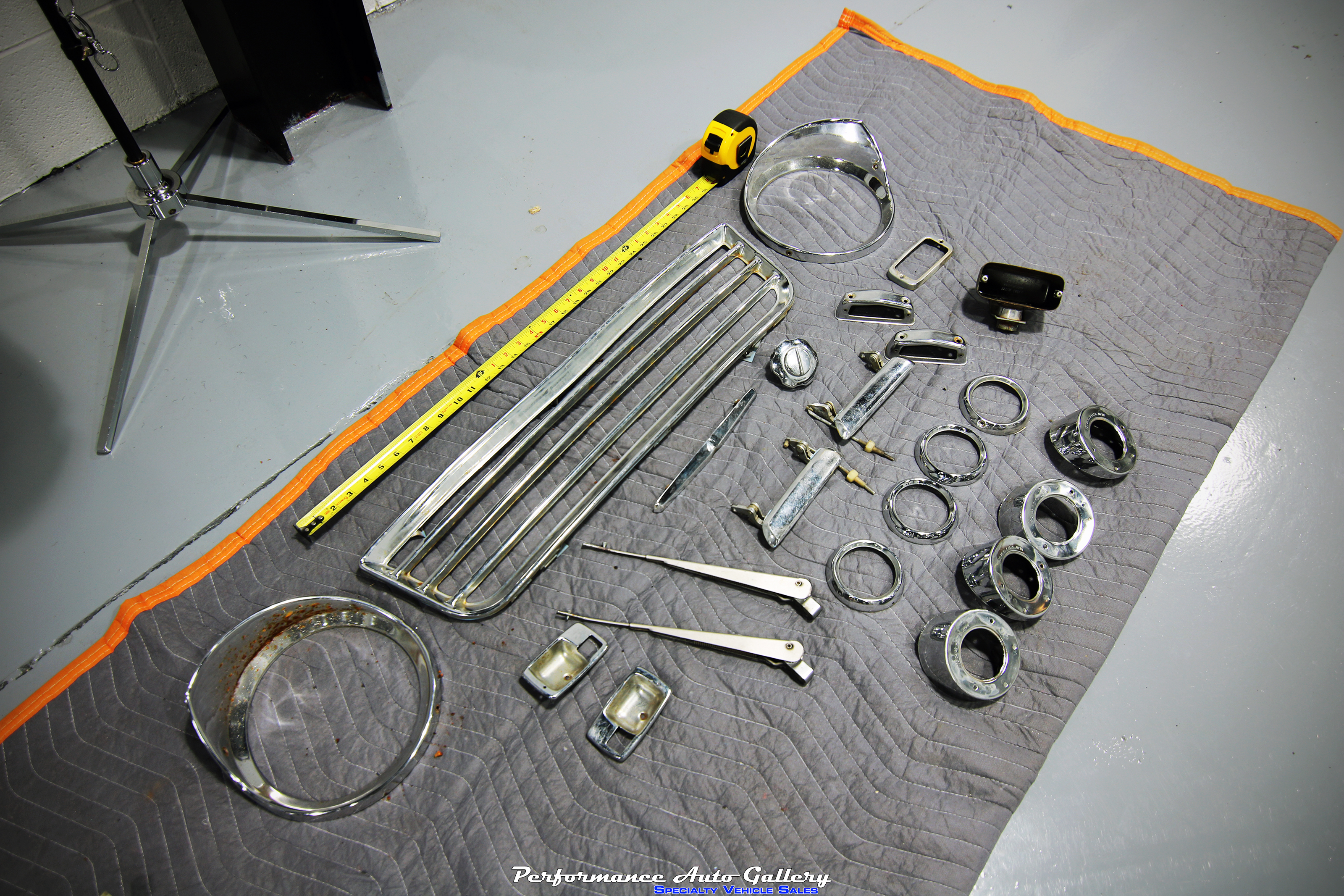 Datsun Parts for Chroming