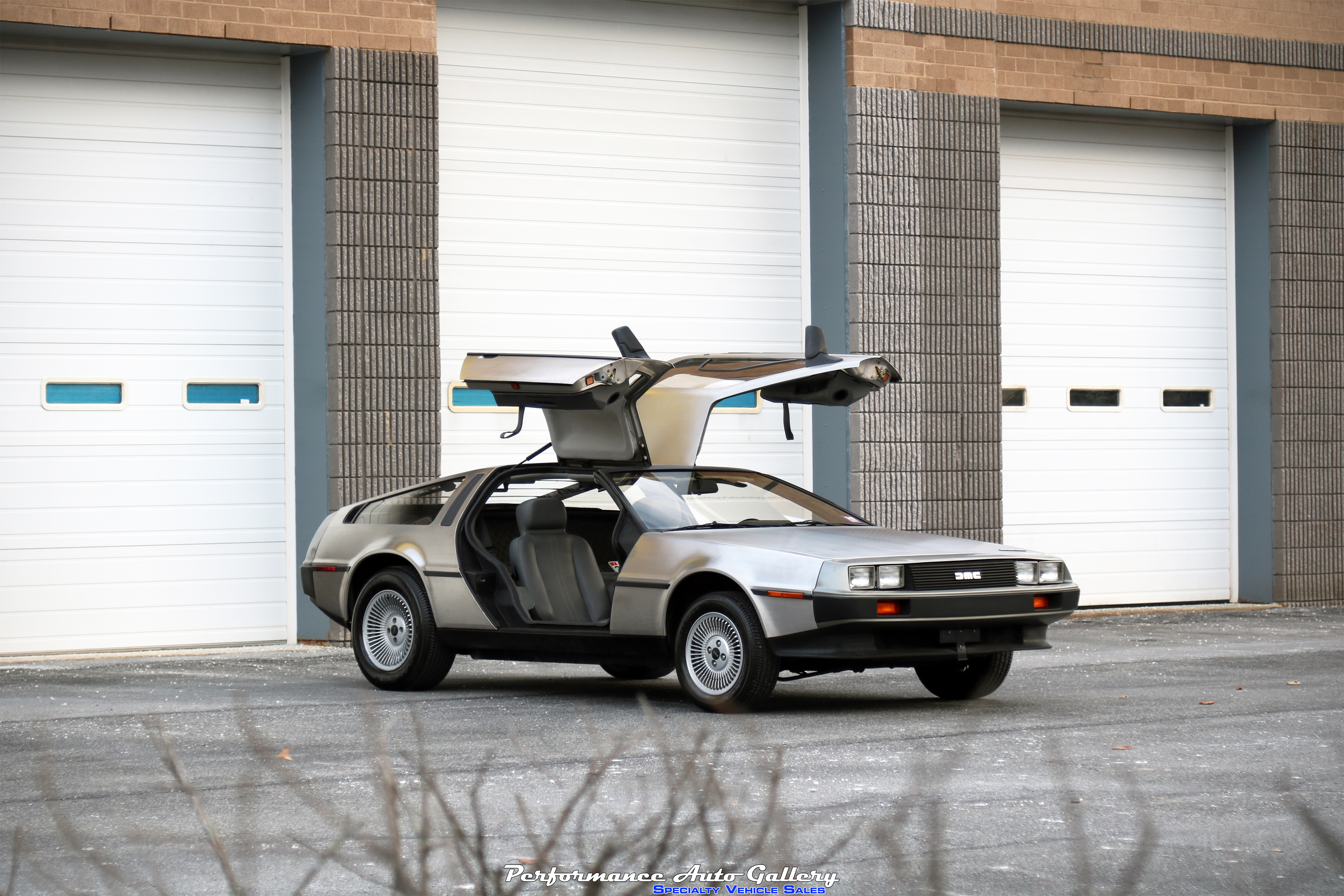 Nerd out with this DeLorean DMC-12 with just 1,634 original miles!