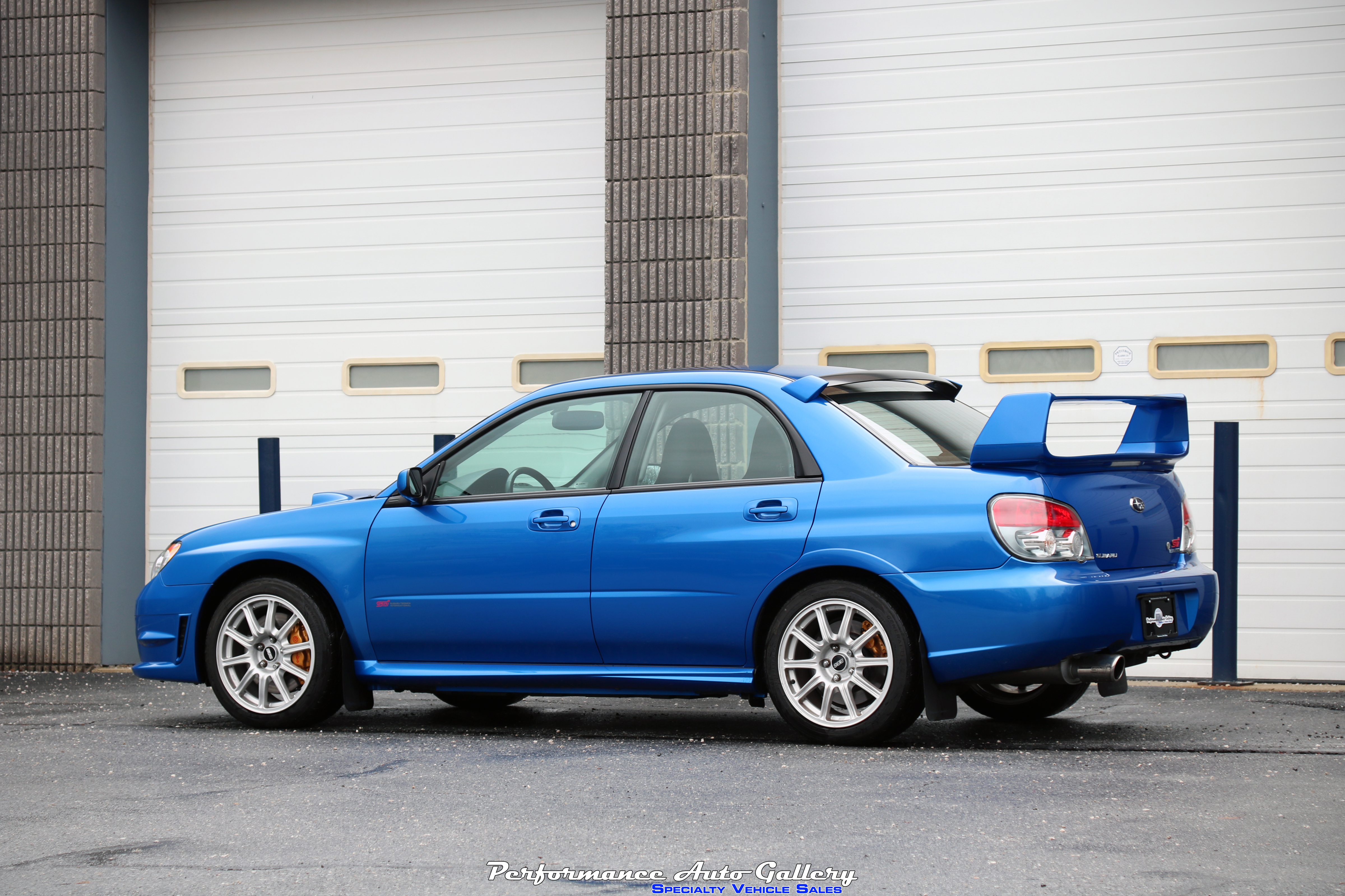 new arrival 2006 sti in world rally blue for sale with 52k miles. Black Bedroom Furniture Sets. Home Design Ideas
