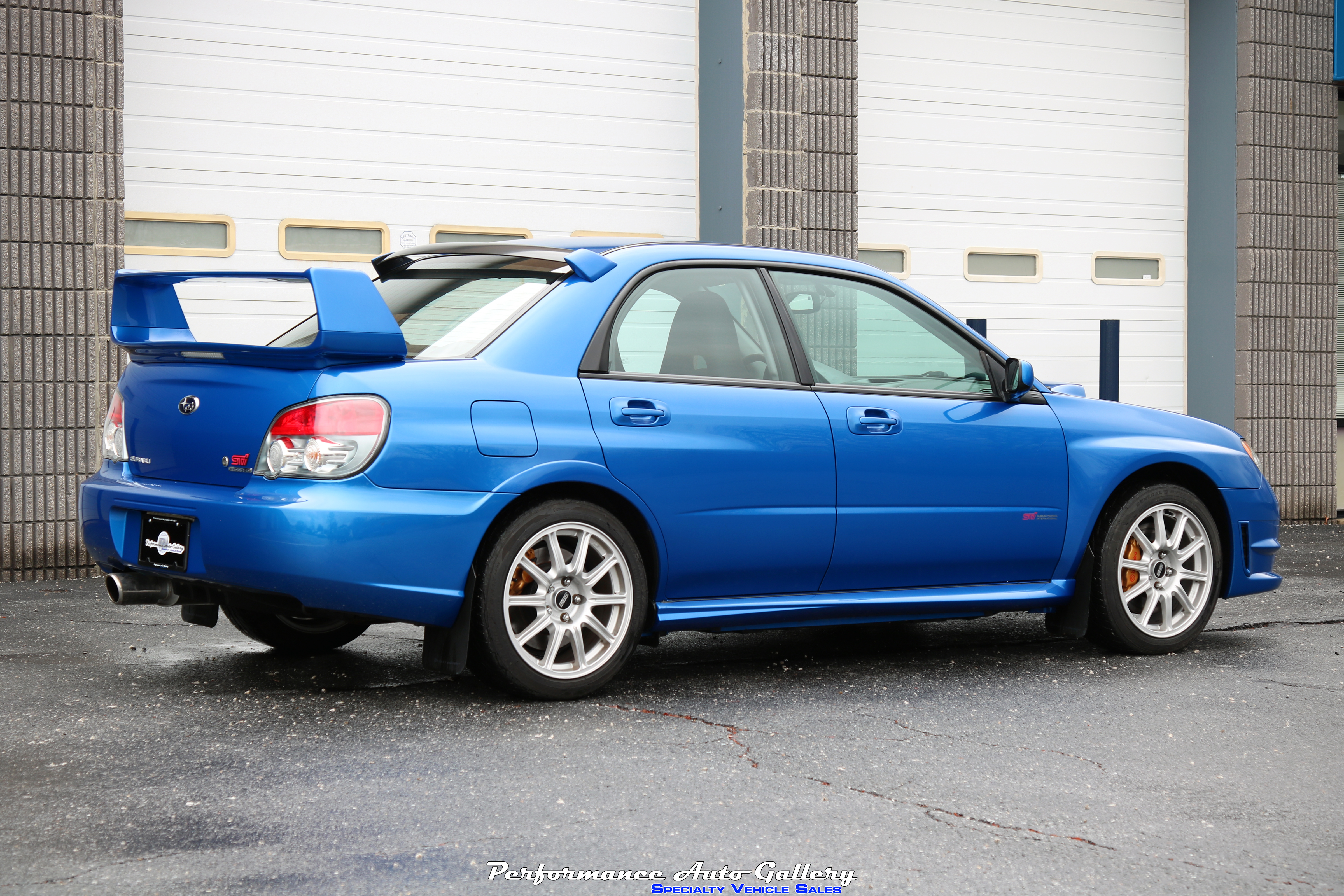 New Arrival 2006 Sti In World Rally Blue For Sale With